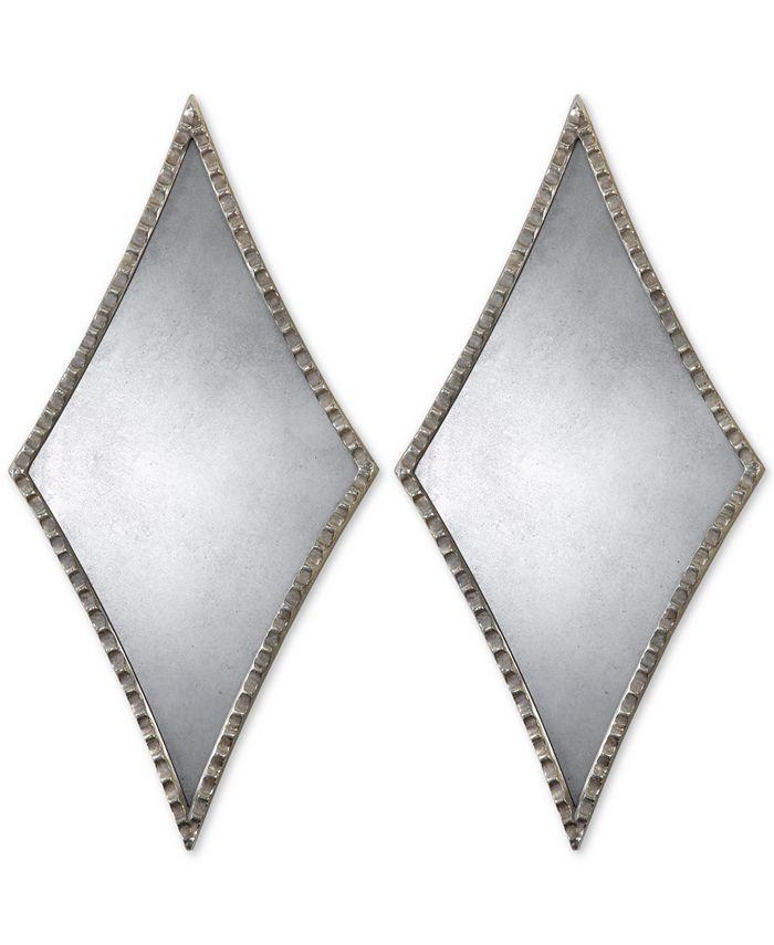 Uttermost - Gelston Silver Mirror