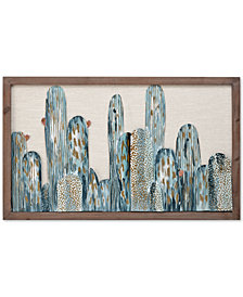 Madison Park Cactus Metal Wall Art Decor