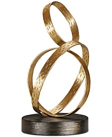 Madison Park Anelli Iron Ring Small Tabletop Decor