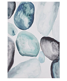 Madison Park Pebbles Hand-Embellished Canvas