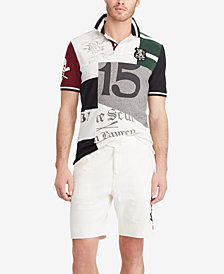 Polo Ralph Lauren Men's Classic Fit Patchwork Cotton Polo
