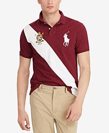Polo Ralph Lauren Men's Custom Slim Fit Mesh Big Pony Polo