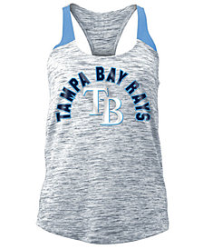 5th & Ocean Women's Tampa Bay Rays Space Dye Tank