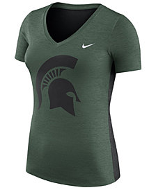 Nike Women's Michigan State Spartans Dri-Fit Touch T-Shirt