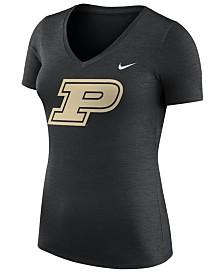 Nike Women's Purdue Boilermakers Dri-Fit Touch T-Shirt