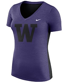 Nike Women's Washington Huskies Dri-Fit Touch T-Shirt