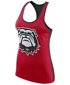 Nike Women's Georgia Bulldogs Dri-Fit Touch Tank