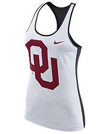 Nike Women's Oklahoma Sooners Dri-Fit Touch Tank