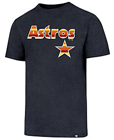 '47 Brand Men's Houston Astros Club Logo T-Shirt