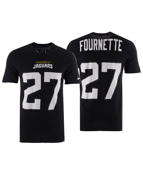 Nike Men's Leonard Fournette Jacksonville Jaguars Player Pride Name and Number T-Shirt