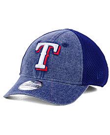 New Era Boys' Texas Rangers Jr Hooge Neo 39THIRTY Cap