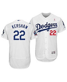 Majestic Men's Clayton Kershaw Los Angeles Dodgers Mother's Day Flexbase Jersey