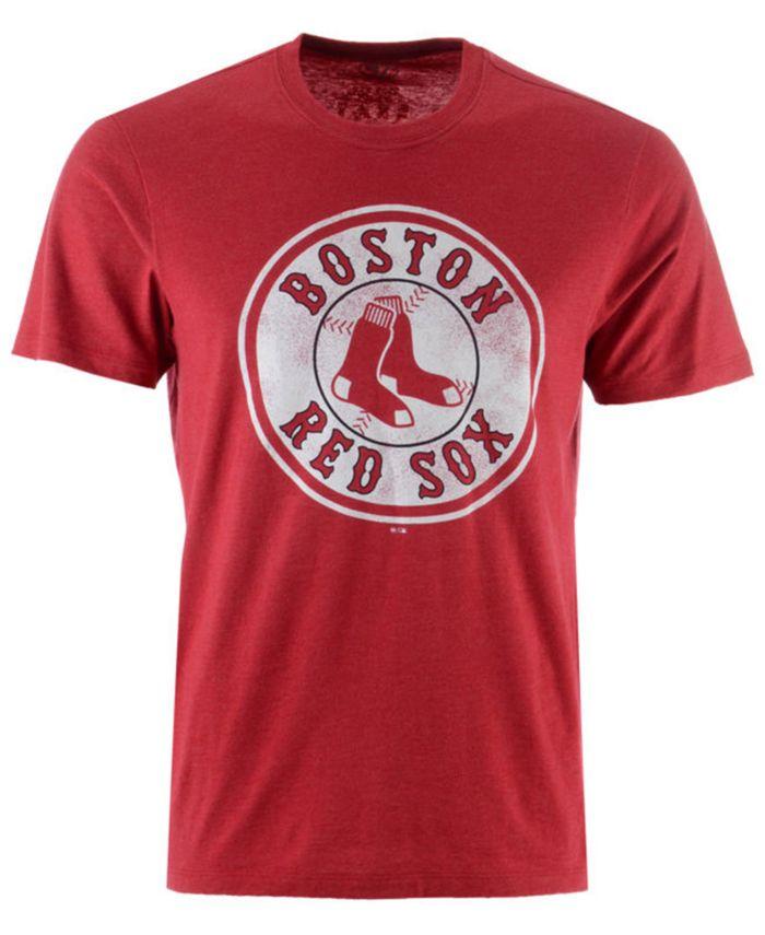'47 Brand Men's Boston Red Sox Club Logo T-Shirt & Reviews - Sports Fan Shop By Lids - Men - Macy's