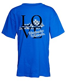 J America Kentucky Wildcats Love T-Shirt, Girls (4-16)