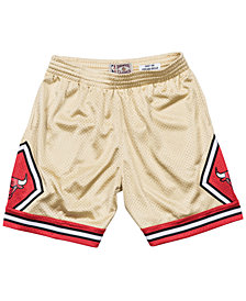 Mitchell & Ness Men's Chicago Bulls Gold Collection Swingman Shorts