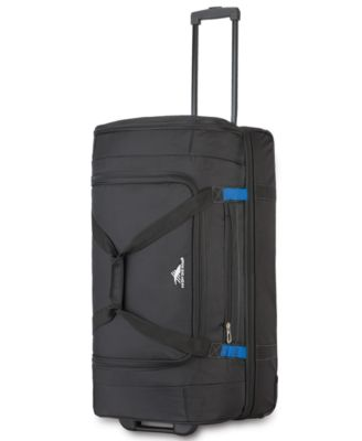 "28"" Wheeled Drop-Bottom Duffel Bag"