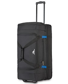 "High Sierra 28"" Wheeled Drop-Bottom Duffel Bag"