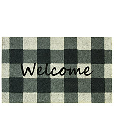 "Bacova Farmhouse Check 18"" x 30"" Doormat"