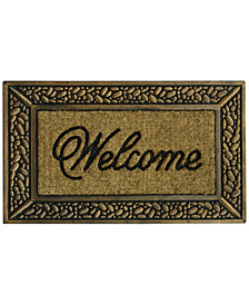 "Bacova Classic Welcome 18"" x 30"" Doormat"