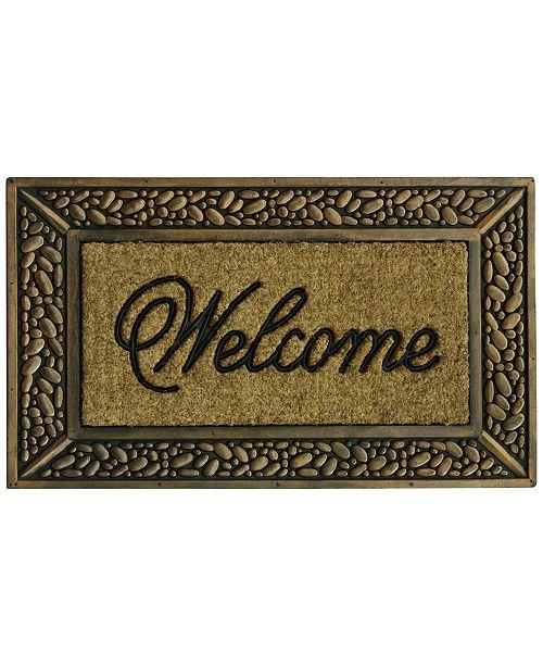 "Bacova Classic Welcome 18"" x 30"" Doormat"