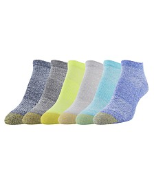 Gold Toe Women's 6 Pack Sport Arch-Support Liner Socks