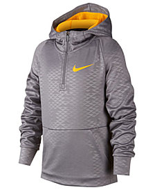 Nike Big Boys 1/2-Zip Training Hoodie