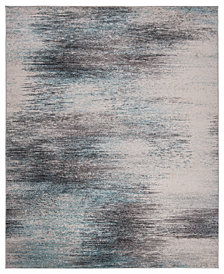 KM Home Steelo Coast Aqua Area Rug Collection