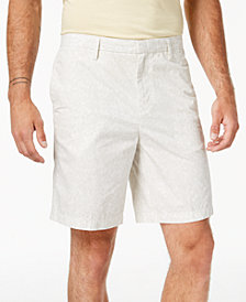 DKNY Men's Light Stripe Print Relaxed Fit Shorts