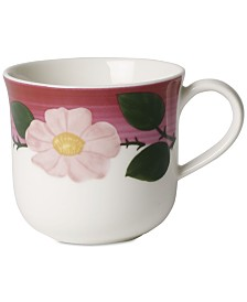 Villeroy & Boch Rose Sauvage Framboise Breakfast Cup