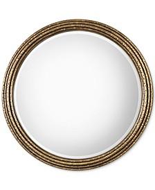 Spera Round Gold Mirror