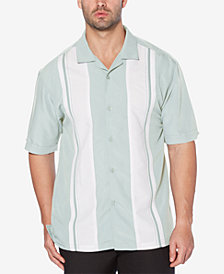 Cubavera Men's Big & Tall Panel Camp Shirt