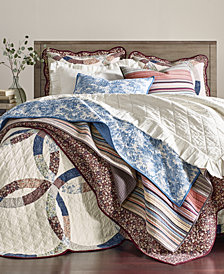 Martha Stewart Collection Farm House Quilt & Sham Collection, Created for Macy's