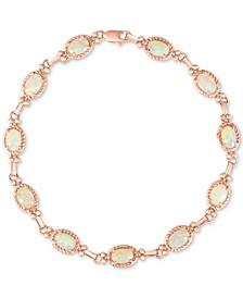Opal Link Bracelet (3 ct. t.w.) in 14k Rose Gold