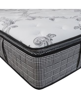 """Chic Couture Cool Gel Memory Foam and Wrapped Coil Hybrid 13"""" Pillow-Top Mattress - Twin XL, Quick Ship, Mattress in a Box"""