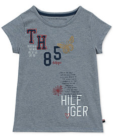 Tommy Hilfiger Big Girls Scribble T-Shirt