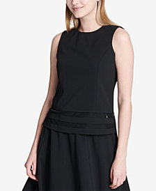 Calvin Klein Illusion-Trim Top