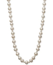 "Belle de Mer Cultured Freshwater Pearl (4mm, 9-1/2mm) 36"" Strand Necklace"