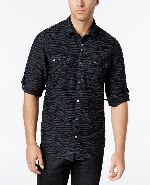 b2f1a4cdea0 INC International Concepts I.N.C. Men s Caldwell Shirt