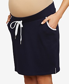 Motherhood Maternity French Terry Skirt
