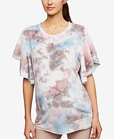 A Pea In The Pod Maternity Flutter-Sleeve Top