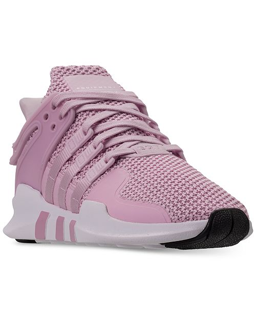 0f32a54a8819 ... adidas Girls  EQT Support ADV Casual Athletic Sneakers from Finish ...