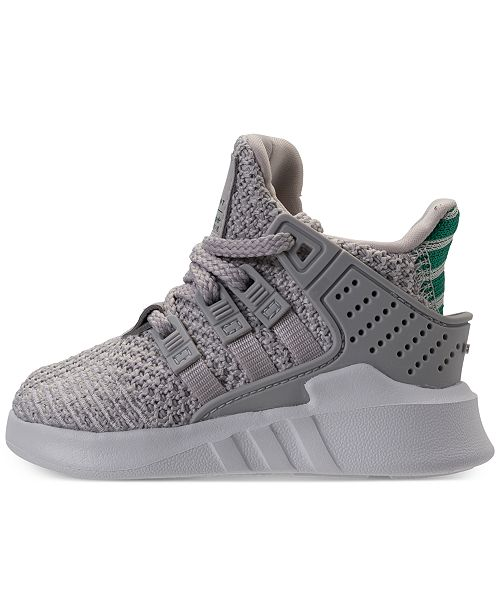 05117df9a80 ... adidas Toddler Boys  EQT Basketball ADV Casual Sneakers from Finish ...