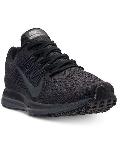 timeless design 82d13 eff02 Nike Men's Air Zoom Winflo 5 Running Sneakers from Finish ...