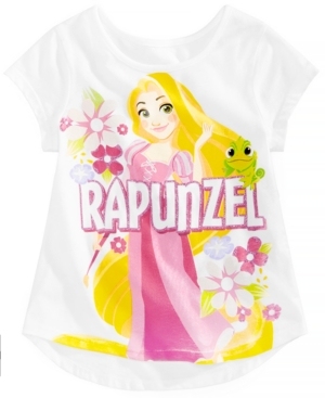 Disney Little Girls Rapunzel Cotton TShirt