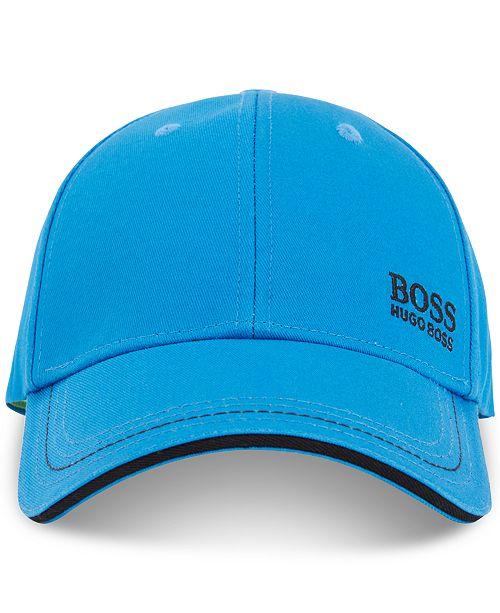 dd4c1129e2b Hugo Boss BOSS Men s Embroidered Logo Cotton Baseball Cap - Hats ...