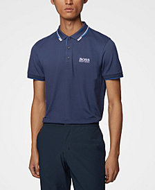 BOSS Men's Regular/Classic-Fit Quick-Dry Polo