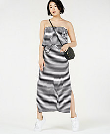 Bar III Strapless Maxi Dress, Created for Macy's