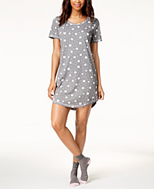 Jenni by Jennifer Moore Printed Sleepshirt, Created for Macy's