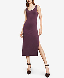 BCBGMAXAZRIA Tie-Strap Shift Dress