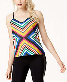 Bar III Printed Tank Top, Created for Macy's